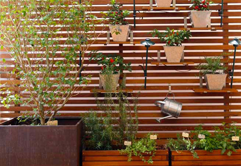 Jardim e Horta vertical