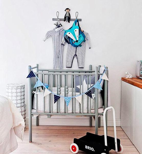 Cinza para o quarto do bebê?