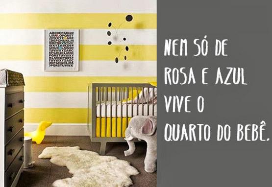 Se o tom for selecionado e bem combinado, não tem porque deixar de apostar nessa cor para o quartinho do bebê