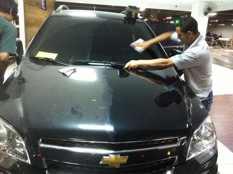 Lave seu carro a seco
