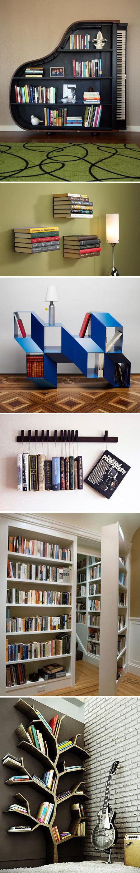 Dica: 15 prateleiras estilosas para você guardar seus livros